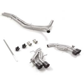 Tube intermédiaire + échappement arrière duplex sortie Carbon Shot Audi RS6 (F2) 4.0TFSI (441KW) 2020 - Aujourd'hui