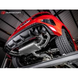 Pot d'échappement arrière en inox Audi S3 Sportback Quattro 2.0TFSI (228kW) 2020 - Aujourd'hui