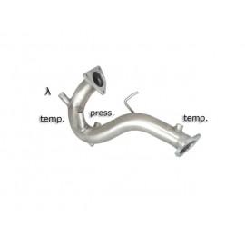 Décatalyseur + remplacement FAP en inox Audi A4 2.7TDI V6 (140KW) 06/2007 - 2011