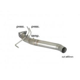 Tube suppression filtre à particules en inox AUDI Q7 3.0TDI V6 (171KW) 2005 - 2008