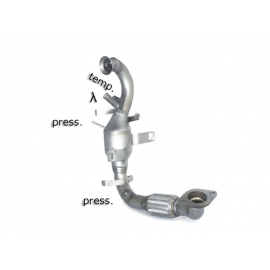 Tube remplacement FAP + tube remplacement catalyseur FORD GRAND C-MAX 2010 - AUJOURD'HUI