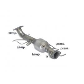 Catalyseur Sport + tube suppression fap MAZDA 5 2.0CD DPF (81/105KW) 2005 - 2009