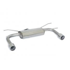 Silencieux arrière duplex en inox avec sortie 90mm MAZDA ROADSTER - COUPÈ 1.8 (93KW) 2006 - 2015