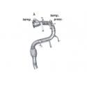 Tube de remplacement catalyseur + tube remplacement fap MINI COOPER COUPÉ JCW 1.6 (155KW) 2011 - AUJOURD'HUI