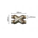 Compensateur diamètre 76 mm Ragazzon