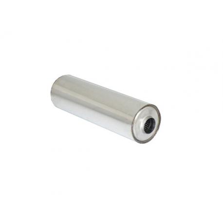Silencieux universal rond 155 mm longueur 520 mm