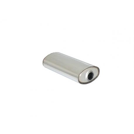 Silencieux universal oval 190x110 mm longueur 450 mm Ragazzon