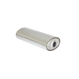 Silencieux universal oval en inox 220x140 mm longueur 520 mm  Ragazzon