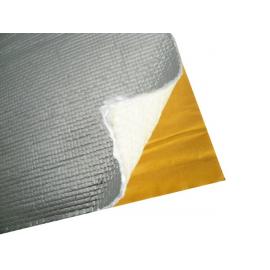 Tissu de verre adhèsif thermique, isole la chaleur