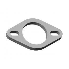 Bride en acier épaisseur 10 mm Ø56 Ragazzon