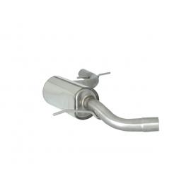Silencieux intermédiaire en inox VOLKSWAGEN GOLF VI 2.0 GTI TSI (155KW) 2009 - 2012