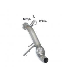 Tube remplacement catalyseur + tube remplacement filtre à particules BMW Serie 1 E87(5portes) 118D (90KW) 2004 - 2007