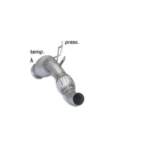 Catalyseur groupe N + tube remplacement FAP BMW X6(e71) 30D XDRIVE (180KW) 2010 - 2014