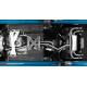 Échappement arriere Duplex avec Valve Abarth 124 Spider 1.4T Multiair (125kW) 2016 - Aujourd'hui