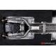 Silencieux intermédiaire en inox Alfa Romeo Giulia (952) Quadrifoglio 2.9 TURBO (375KW) 2016 - Aujourd'hui