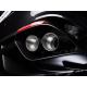Pot d'échappement arrière dulex avec valve Alfa Romeo Giulia (952) Quadrifoglio 2.9 TURBO (375KW) 2016 - Aujourd'hui