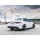 Silencieux d'échappement arrière duplex Modifier le pare-chocs d'origine ou utiliser jupe arrière Alfa Romeo Giulia 2.2T 132kW