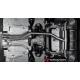 Pot d'échappement arrière duplex Modifier le pare-chocs d'origine ou utiliser jupe arrière Alfa Romeo Giulia 2.2T 132kW