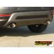 Echappement arrière duplex en inox Fiat 500X (typ334) 1.6MJT (88kW) 2015 - Aujourd'hui