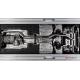 Silencieux intermédiaire en inox Alfa Romeo Giulia(952) 2.0 Turbo Q4 Veloce (206kW) 2016 - Aujourd'hui