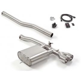 Silencieux arrière inox avec valve électrique MINI F56 JCW 2.0 (170KW) 2014 - Aujourd'hui