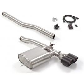 Pot d'échappement arrière Inox avec valve MINI F56 JCW 2.0 (170KW) 2014 - Aujourd'hui