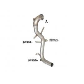 Tube suppression catalyseur + tube suppression FAP Inox Fiat Panda III 1.3 MULTIJET (55KW) 4X4 12/2012 - 2015
