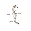 Catalyseur group n + tube remplacement filtre à particules Fiat Panda III 1.3 MULTIJET (55KW) 4X4 12/2012 - 2015