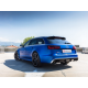 Silencieux arrière + tube intermédiaire Inox Audi RS6 QUATTRO AVANT 4.0TFSI V8 (412KW) 2013 - Aujourd'hui