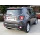 Silencieux arrière duplex en inox Jeep Renegade 1.6 MULTIJET (88KW) 2014 - Aujourd'hui