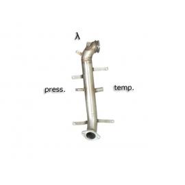 Tube remplacement catalyseur + tube remplacement FAP Fiat Grande Punto 1.6 MULTIJET (88KW) 2009 - 2012