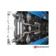 Échappement arrière duplex 1 sortie 102mm Sport line NISSAN 370Z 3.7 V6 (241KW) 07/2009 - AUJOURD'HUI