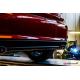 Pot d'echappement arrière duplex en inox Fiat Tipo (typ356) 1.4TJET (88kW) 2016 - Aujourd'hui