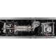 Pot d'echappement arrière duplex en inox Fiat Tipo GPL (typ356) 1.4TJET (88kW) 2016 - Aujourd'hui