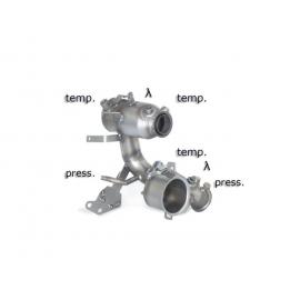 Catalyseur sport Groupe N + tube suppression FAP Seat Leon III (5F) Seat Leon III (5F) 1.6TDI (66KW) 2012 - Aujourd'hui