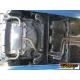 Échappement arrière duplex Seat Leon III (5F) 1.4TSI FR (90KW) 2012 - Aujourd'hui sorties rondes Sport Line 80 mm décalées