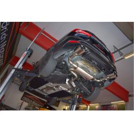 Ligne d'échappement Inox Ford Focus IV 1.5l Ecoboost 110/134kW 2018 - Aujourd'hui